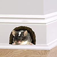 60 Second Makeover Limited Full Colour Mouse in a Hole Wall Sticker Decal Cute Hame Décor Quirky Mural