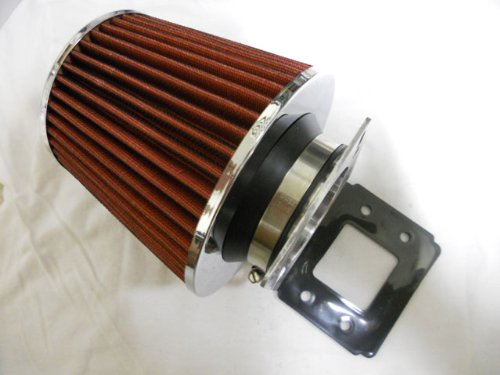 89-97 Mazda Mx-6/626 I4 / 90-97 Mazda Miata Mx-5 Air Intake Filter+ MAF Adapter(include Red Air Filter)