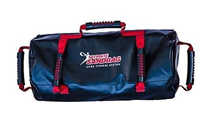 8b0d4825e542 Ultimate Sandbag Power Package  Adjustable Fitness Sandbag Loadable up to  40 pounds - Black