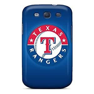 For JTHicks Galaxy Protective Case, High Quality For Galaxy S3 Texas Rangers Skin Case Cover