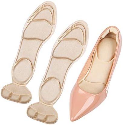 YINFOO インソール 女性用 靴の中敷き ハイヒール用インソール サイズ調整用 靴擦れ防止 かかとパッド カット可 調節可能 ヒール用インソール 衝撃吸収 立ち仕事 足の痛み 疲れ 軽減