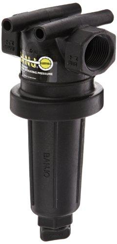 Banjo LST100-50 Polypropylene T-Strainer, 50 Mesh, 1