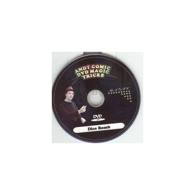 Andy Comic DVD Magic Tricks   Dice Bomb  Other Products