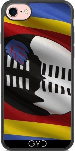 Coque Silicone pour Iphone 7 / Iphone 8 - Drapeau De Swaziland by Carsten Reisinger