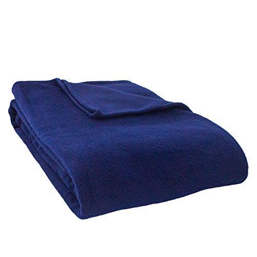 Cozy Fleece Alta Luxury Hotel Fleece Blanket, Queen, - Anti Pill Soft