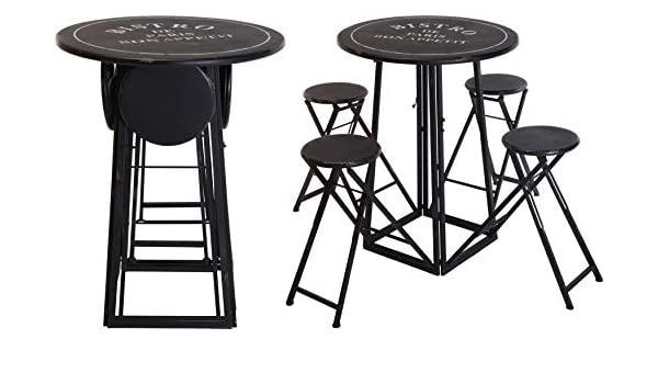 Fair-Shopping B010 - Juego de Mesa y sillas Plegables para ...