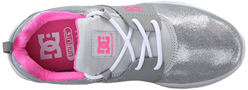 Dc Womens Heathrow Se Skate Shoe Argento