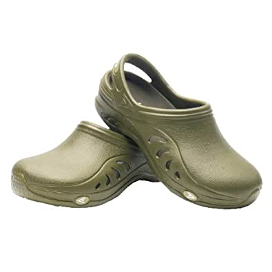 Sloggers 301GN08 Womens Unisex Garden Sandal, Green, Size 8