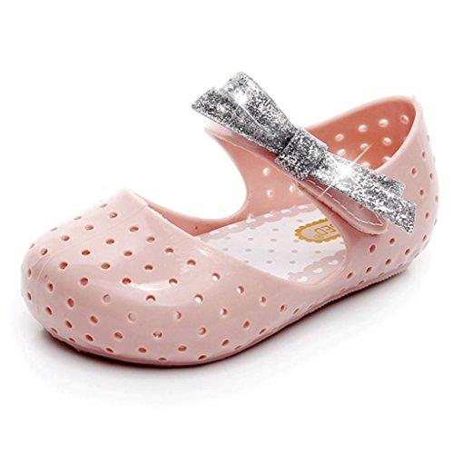 Huhu833 Babyschuhe, Baby Mode Sneaker Kind Kleinkind Kinder Bowknot Prinzessin Casual Einzelne Schuhe Rosa