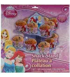 Disney Princess 2 Tier Snack Stand (3 Piece/Pack) - 65315