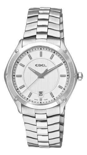 Ebel Men's 9955Q41/163450 Classic Sport Silver Dial Watch