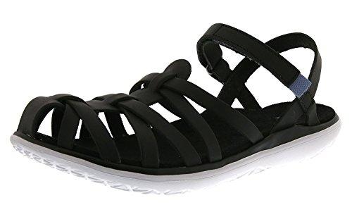 Teva Womens Terra-Float Stella Lux Sandal, Nero, 40.5 B(M) EU/7.5 B(M) UK