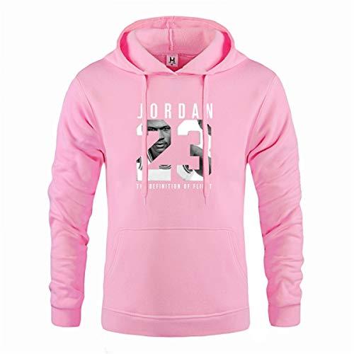 Jordan 23 Hoodie Men Sportswear Mens Hoodies Pullover Hip Hop Mens Sweatshirts Pink (Pink Jordan Hoodie Women)
