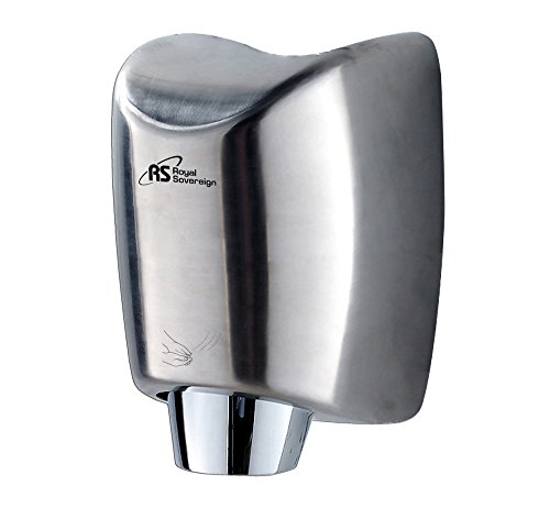 Touchless Hand Dryer (Royal Sovereign RTHD-431SS Touchless Automatic Hand Dryer, 15 seconds Operating)