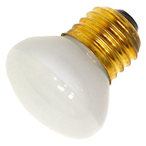Frost Flood Incandescent Light Bulb (Bulbrite 200025 25 Watt - R14 Short Neck - Reflector Flood - 120 Volt - Medium/Standard Base - Incandescent Light Bulb - (10-Pack))