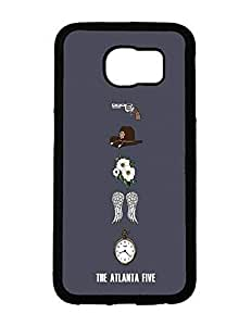 AngsCase & Samsung Galaxy S6 New Design Flexible Plastic Case The Walking Dead Theme by mcsharks