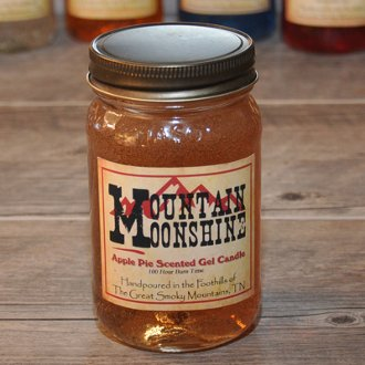Mountain Moonshine Apple Pie Moonshine Candle by The Candle Cottage Mountain Cottage