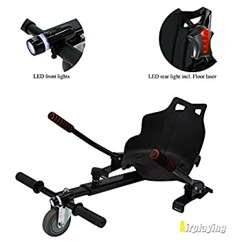 Carrito con silla para patinete eléctrico