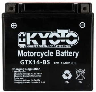 Kyoto Batterie Pack Acide pour Kawasaki ZRX 1100 1997//2000