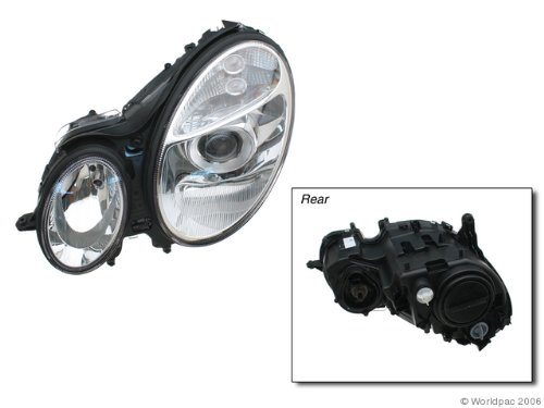 HELLA 008369051 Mercedes-Benz E-Class W211 Driver Side Headlight (Hella Left Headlight Assembly)