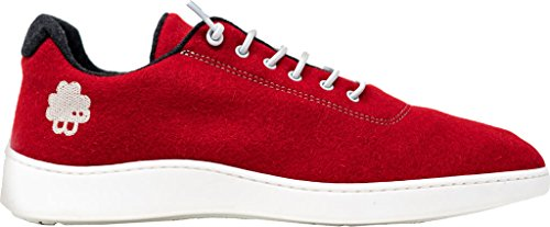 Baabuk Urban Wooler Sneaker Red/Grey cheap sale store top quality for sale 66AgbsH