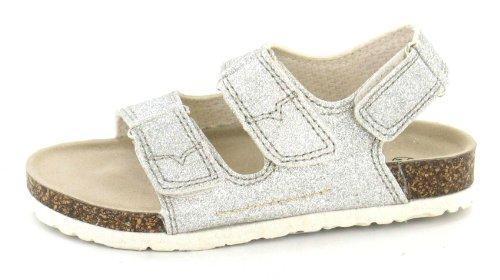 Down Two Earth To Strap Silver Sandal Girls Detail 7qTq8vw1