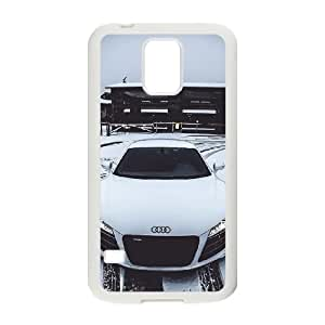 Audi Samsung Galaxy S5 Cell Phone Case White yyfabc-384159