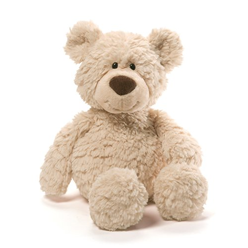 (GUND Pinchy Teddy Bear Stuffed Animal Plush, Beige, 17
