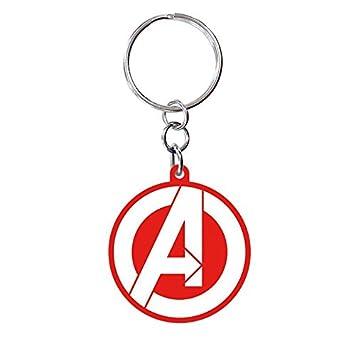 Avengers Llavero de plástico Marvel Logotipo: Amazon.es: Hogar