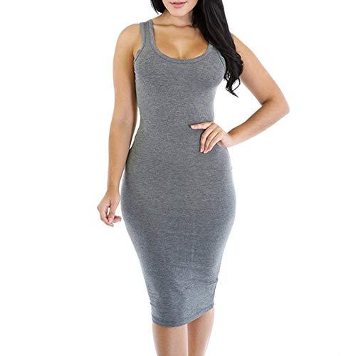 Duevin Women Irregular Sloping Shoulder Sleeveless Tight V-Neck Formal -