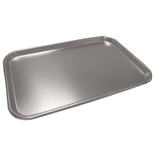 Polar Ware 10F Stainless Steel Serving Tray with Rolled Bead, 10