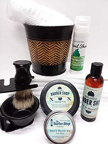 Men's Barbershop Collection || Natural Shaving Products
