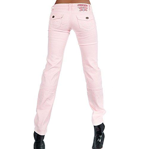 Cut Jeans Boot jeans Basic Rosa Diva Donna 8AtqZn