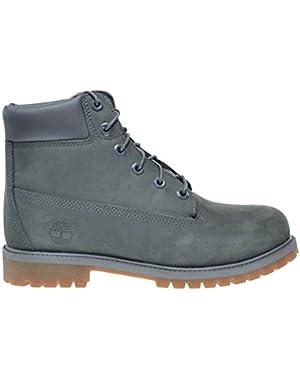 6Inch Premium Big Kids Waterproof Boots Grey Mono tb0a14zz