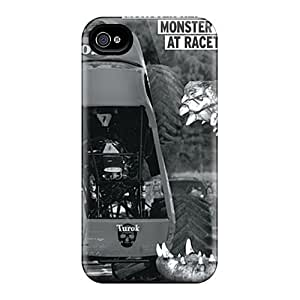 New UfF18780VWaC Monster At Racetrack Covers Cases For Iphone 6