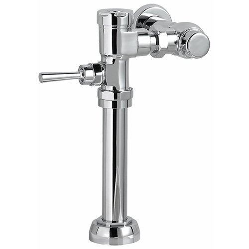 (American Standard 6047.161.002 1.6 GPF Manual FloWise Flush Valve, Chrome)