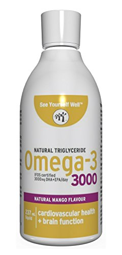 Ultimate Strength Omega 3 Fish Oil Liquid: 3000 . Highest EP