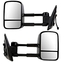 Prime Choice Auto Parts KAPGM1320444PR Front Pair of Power Heated Side Mirrors w/Signal