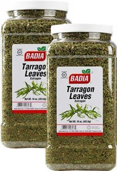 Badia Tarragon Leaves 16 oz Pack of 2 by Badia