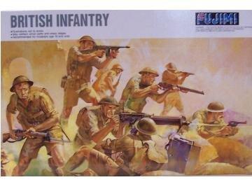Fujimi British Infantry Figures Kit 1:76 Scale Military Model Kit [並行輸入品]   B01K1X75VC