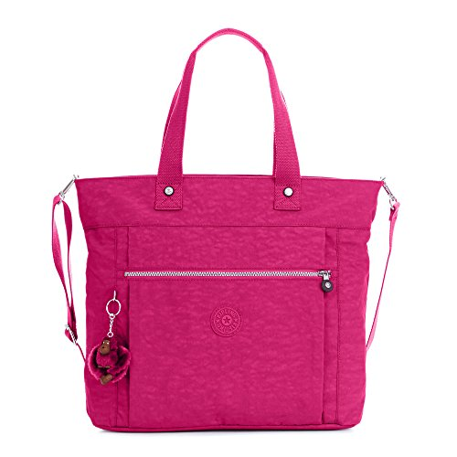 Kipling Lizzie Solid Laptop Tote Bag, Very Berry by Kipling