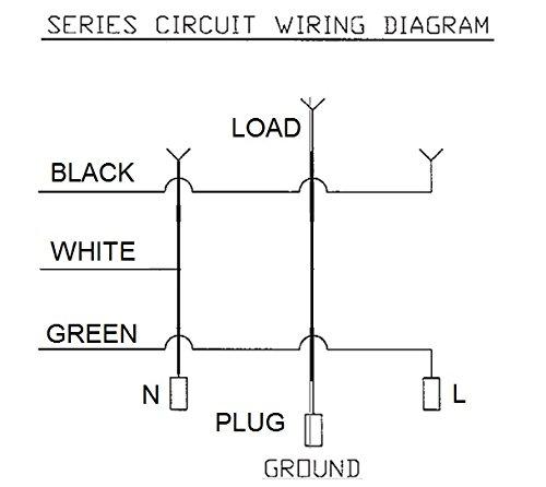 41dsE1l7dgL piggyback power cord 6 ft for timer, lights, float switch 110v piggyback plug wiring diagram at edmiracle.co