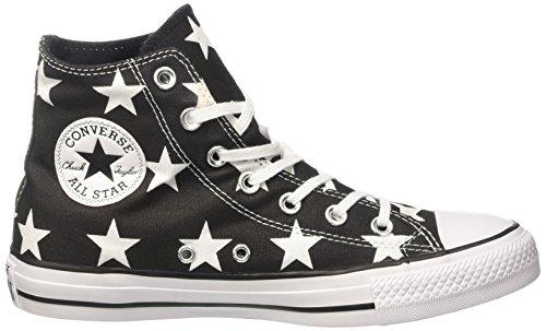 Nero black white Sneaker A white Converse Alto Collo 156810c Donna xYpO0qOw
