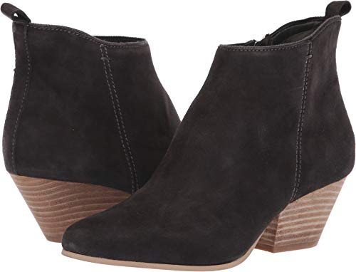 (Dolce Vita Women's Pearse Ankle Boot, Anthracite Suede, 8.5 M US)