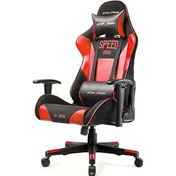 Amazon Com Gtracing Fabric And Pu Gaming Chair Racing