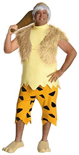 The Flintstones Adult Bamm-Bamm Set, Yellow/Orange, Plus -
