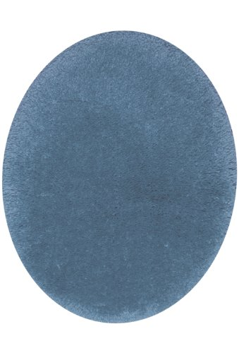 STAINMASTER TruSoft Luxurious Bath Toilet Lid Rug, Standard Lid Blue (Toilet Tank Lid Cover)