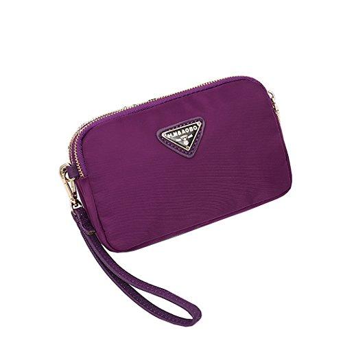 Purple Womens B Wallet Smartphone Purse Cell Suchelle Phone Crossbody Holder Small Phone Bags qwcC7d
