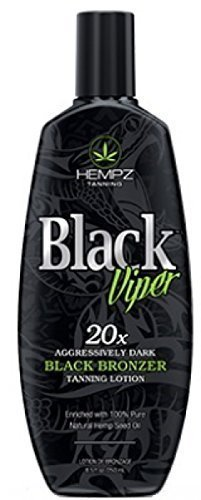 Hempz BLACK VIPER 20X Black Tanning Bronzer - 8.5 oz.
