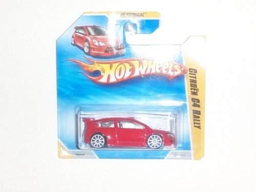 2010 Hot Wheels HW Premiere Red Citroën C4 Rally #29/52 (029/214) on International Short Card